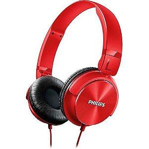 Fone de Ouvido Philips SHL3060RD/00 - Vermelho