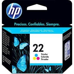 Cartucho De Tinta HP 22 Tricolor - C9352AL