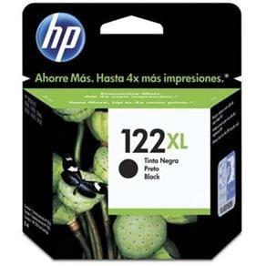 Cartucho De tinta HP 122 XL Preto - CH563HB