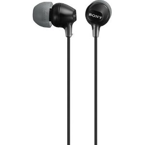 Fone de Ouvido Sony Intra-Auricular MDREX15LP - Preto