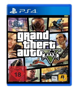Jogo Grand Theft Auto V - PS4