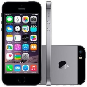 iPhone 5S 16GB Cinza Espacial Apple