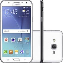 "Smartphone Samsung Galaxy J7 Duos Tela 5.5"" 16GB 4G Wi-Fi Câmera 13MP - Branco"