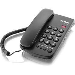 Telefone Elgin com Fio TCF 2000 - Preto