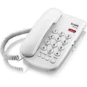 Telefone Elgin com Fio TCF 2000 - Branco
