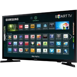 "Smart TV LED 48"" Samsung UN48J5200 Full HD"