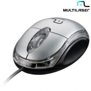 Mouse Multilaser USB Classic Box - MO180