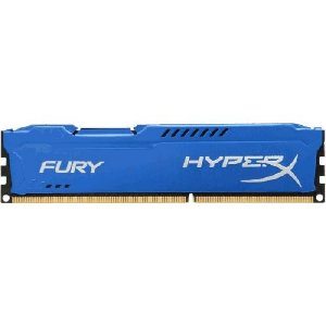 Memória Kingston Hyperx Fury 4GB 1600Mhz DDR3 - Blue