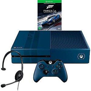 Console Xbox One 1TB Edição Limitada + Game Forza 6 (Via Dowloand) + Headset com Fio + Controle Wireless