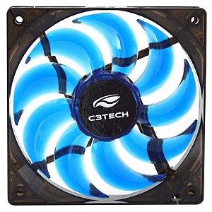 Cooler Fan C3 Tech Storm Series F9 12cm - Azul