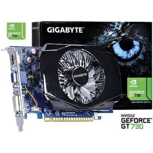 Placa De Video Nvidia Geforce Gt 730 2gb Ddr3 128 Bits - Gv-N730-2GI