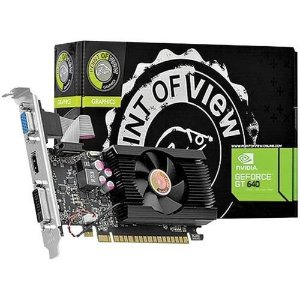 Placa de Vídeo Point of View GeForce GT 640 LP (VGA-640-C5-2048)