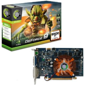 Placa de Vídeo VGA Point of View GeForce GT 9500 1024MB 1GB GDDR2 PCI-Express R-VGA150909H