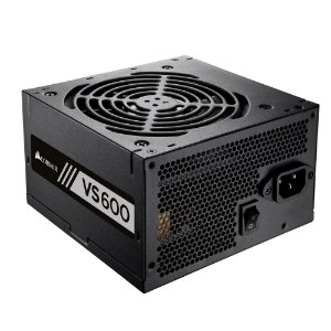 Fonte Corsair 600W 80 Plus White VS600 CP-9020119-LA