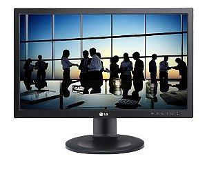 """Monitor Lg Led 19,5"""" com ajuste de altura, 20m35pd-M"""