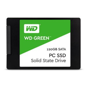"Hd Ssd Western Digital Green 120gb - 2.5"" - Wds120g1g0a"