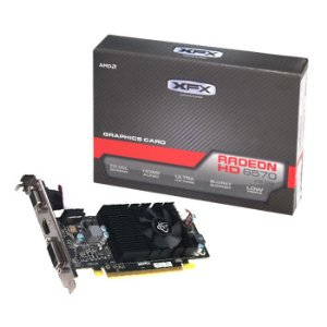 Placa de Vídeo XFX AMD Radeon HD 6570 Low Profile 2GB DDR3