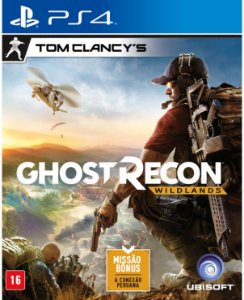 Jogo Tom Clancy's Ghost Recon: WILDLANDS - PS4