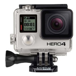 Câmera GoPro Hero 4 Black 12MP 4K 30 fps - CHDHX-401