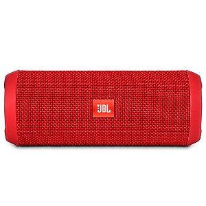 Caixa de Som Bluetooth JBL FLIP3 Vermelha 16W RMS Amplificada 2X8W
