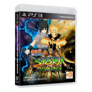 Jogo Naruto Shippuden Ultimate Ninja Storm Revolution - PS3