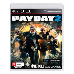 Jogo Pay Day 2 - PS3