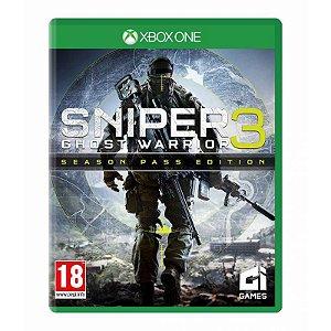 Jogo Sniper 3 Ghost Warrior - XBOX ONE