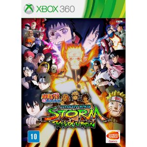 Jogo Naruto Shippuden Ultimate Ninja Storm Revolution - Xbox 360