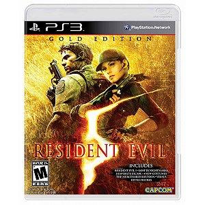 Jogo Resident Evil 5 - Gold Edition - PS3