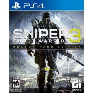 Jogo Sniper Ghost Warrior 3 - Limited Edition - Ps4