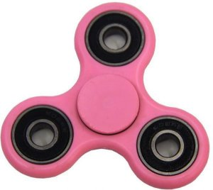 Fidget Hand Spinner Toy Anti Stress e Ansiedade - Rosa