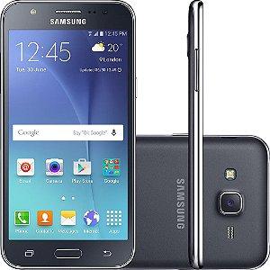 "Smartphone Samsung Galaxy J5 Duos Tela 5"" 16GB 4G Wi-Fi Câmera 13MP - Preto"