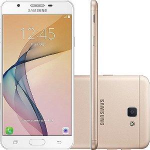 """Smartphone Samsung Galaxy J7 Prime SM-G610M/DS Dual Chip Tela 5.5"""" 32GB 4G Câmera 13MP - Dourado"""