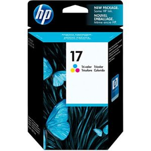 Cartucho de Tinta HP 17 color - C6625A