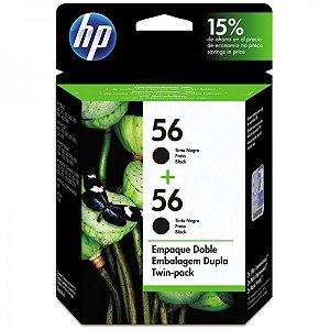 Cartucho de tinta HP 56 Preto - C9319FL