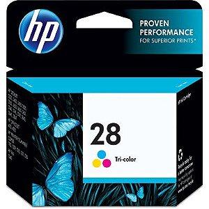 Cartucho de tinta HP 28 colorido - C8728AB