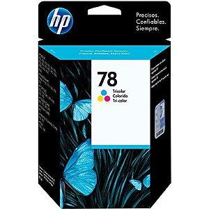 Cartucho de tinta HP 78 colorido - C6578dl