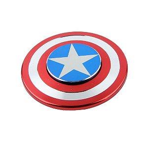 Fidget Hand Spinner - Capitão America