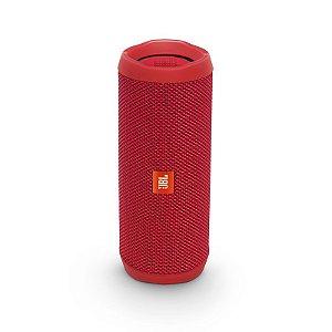 Caixa De Som Bluetooth JBL Flip 4 Vermelha