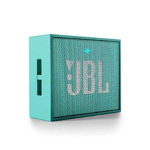 Caixa de som Bluetooth JBL GO - Verde Água