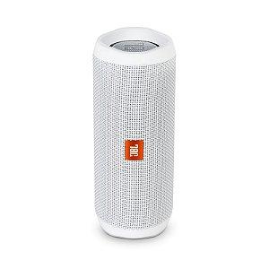 Caixa De Som Bluetooth JBL Flip 4 Branca