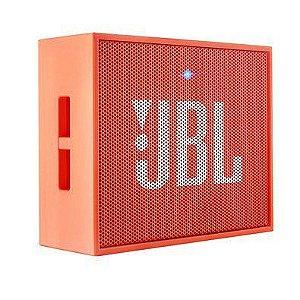 Caixa de som Bluetooth JBL Go Laranja