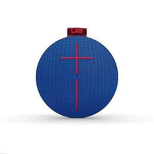 Caixa de Som Bluetooth UE Roll Azul à Prova d' Àgua