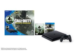 Console Playstation 4 500gb Slim + Game Call Of Duty Infinite Warfare