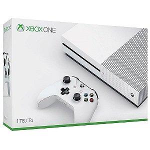 Console Xbox One S 1TB Branco- Microsoft