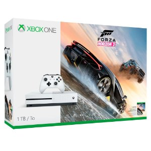 Console Xbox One S 1TB Jogo Forza Horizon 3 Branco - Microsoft