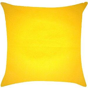 Almofada lisa amarelo