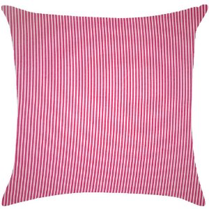Almofada listras finas, rosa pink