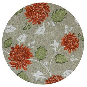 Souplat Floral Laranja