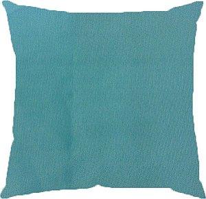 Almofada lisa azul Tiffany